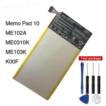 Original C11P1314 Tablet PC batería para ASUS MeMo Pad 10 ME102A 10,1 pulgadas Tablet PC 4980 mAh
