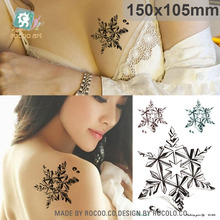 SC903/Exclusive Arm Shoulder Fake Tattoo Body Art Painting Star Design Waterproof Temporary Sticker