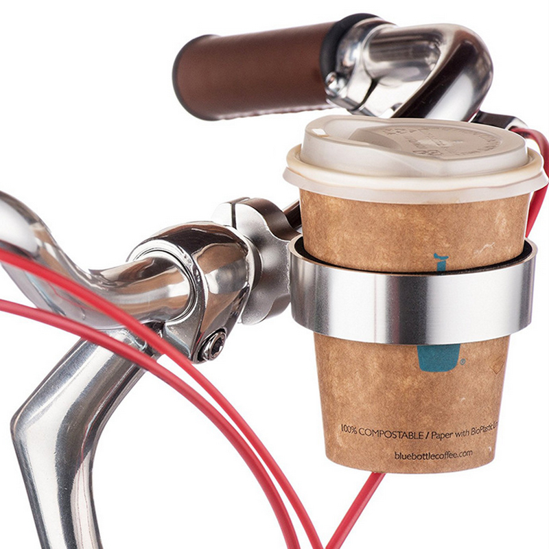 Aluminum alloy bicycle drink water bottle holder bike bottle cup mount bracke PL