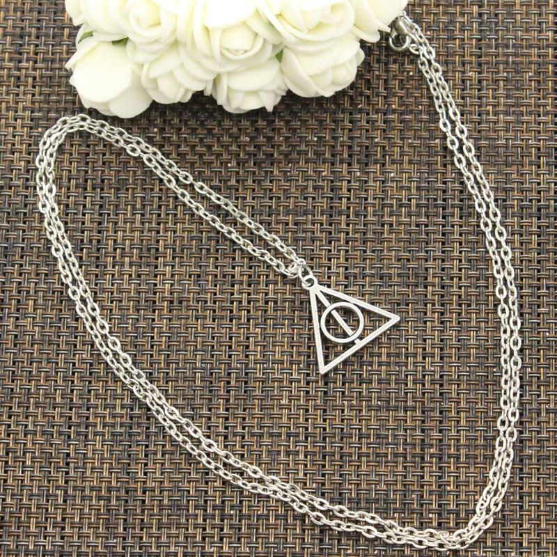 Новое модное ожерелье из серебра, 22x21 мм, подвески из серебра, короткое длинное женское и мужское ожерелье, подарочное ювелирное изделие
