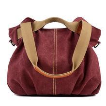 Canvas Fashion bucket Women Single Shoulder Bag leisure Lady handbag women messenger bags