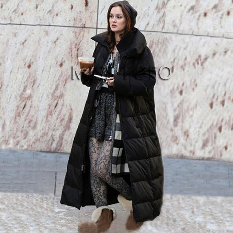 Long Down Coat | Fashion Women's Coat 2017