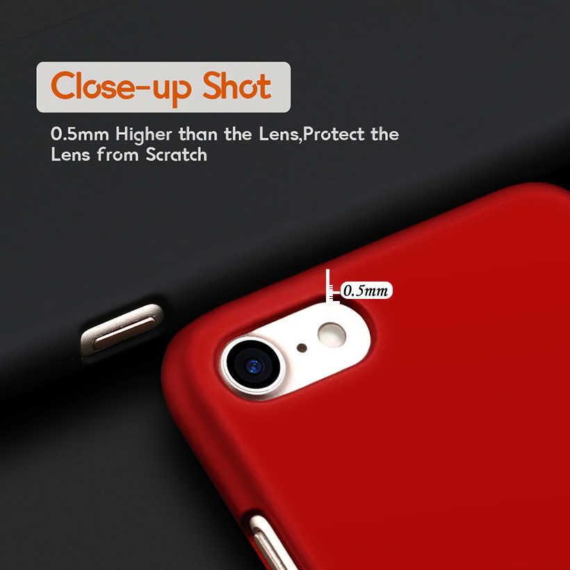 Akabeila Ốp Điện Thoại Cho Huawei Ascend G8 Mini GR3 Thưởng Thức 5S TAG-L21 TAG-L13 TAG-L23 Có Nhựa Dẻo Matte Túi huawei GR3 Ốp Lưng
