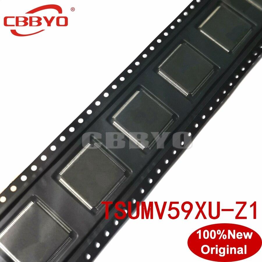 100% Original New Good Quality TSUMV59XU-Z1 TSUMV59XU Z1 QFP-100 Chipset LCD Controllers
