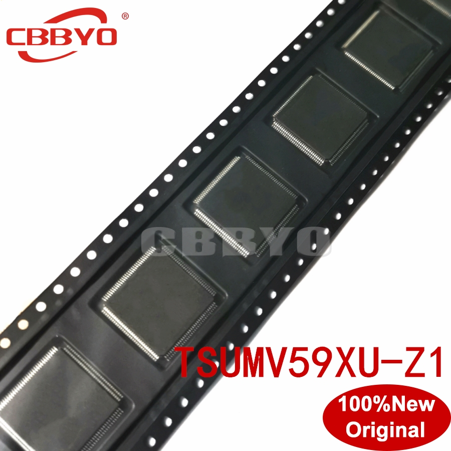 100% Original New good quality TSUMV59XU Z1 TSUMV59XU Z1 QFP 100 Chipset LCD Controllers-in Integrated Circuits from Electronic Components & Supplies