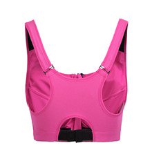 Professional Running Stretch Sports Bra Vest Shockproof Fixed Quick-drying Adjustable Strap