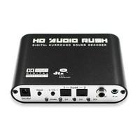 1 PCS Digital AC3 Optical To Stereo Surround Analog HD 5 1 Audio Decoder 2 SPDIF