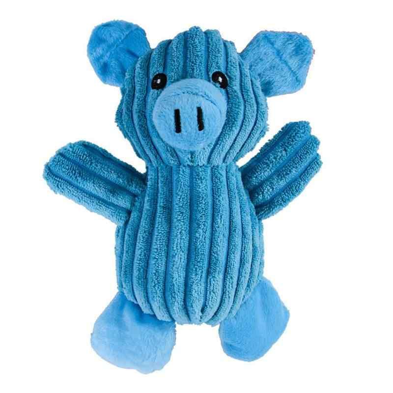 """Забавная свинья игрушка в форме собаки кошка укуса устойчивая Жевательная молярная пищевая игрушка собаки чистая Очищающая игрушка """"зубы"""" игрушки для домашних животных прочный"""