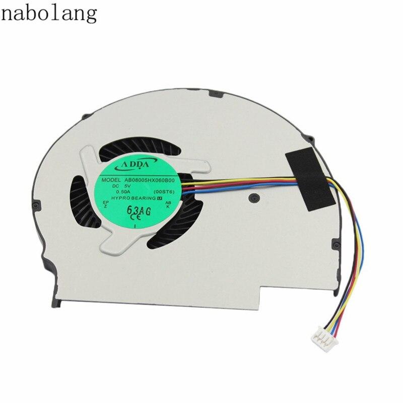 Nabolang 1 pcs Cpu ventilateur de refroidissement refroidisseur pour Lenovo FLEX14 FLEX15 FLEX 14 FLEX 15 ordinateur portable