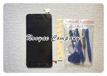 Black Touchpad For BQ 5057 Strike 2 BQs 5057 LCD Display Screen Touch Screen Digitizer Sensor Full Assembly module