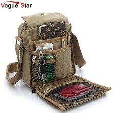 Vogue Star горячая распродажа мужские сумки-мессенджеры мужские дорожные сумки Холщовая Сумка через плечо сумка высокого качества сумка Мужская кошелек YB40-419