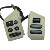 Beige buttons switch For Nissan SYLPHY & FOR LIVINA & FOR Nissan TIIDA steering wheel control buttons with backlight