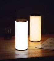 Hghomeart Светодиодная лампа творческий лампа радио светодиодные светильники настольные лампы колонки ночник Лампы для мотоциклов на батареи