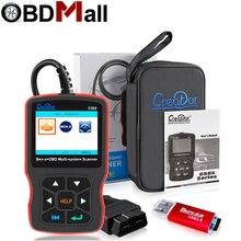 מקורי רכב אבחון כלי בורא C502 OBD2 רכב סורק עבור מרצדס בנץ W211 W203 W124 OBD2 מנוע תקלת קוד קורא