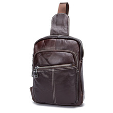 wholesale man bag new spring and summer retro crossbody bag men satchel leather Chest bag
