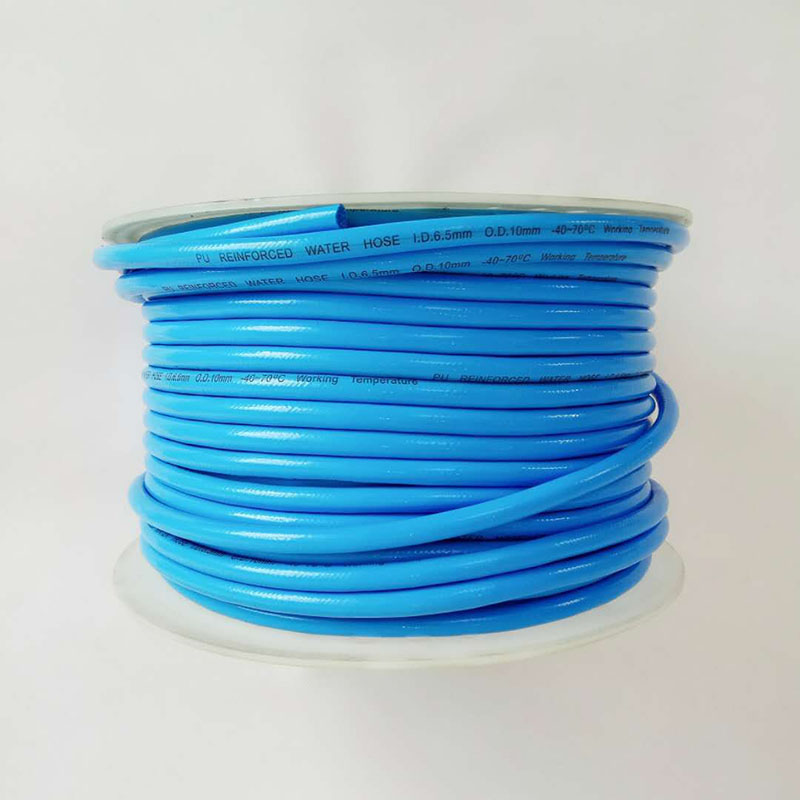 Free shipping 10 meters 6 5 10 PU braided CO2 hose for homebrew