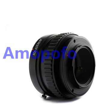 AMOPOFO For Canon EF mount lens to for Canon EF-M EOSM mount adapter Focusing Helicoid
