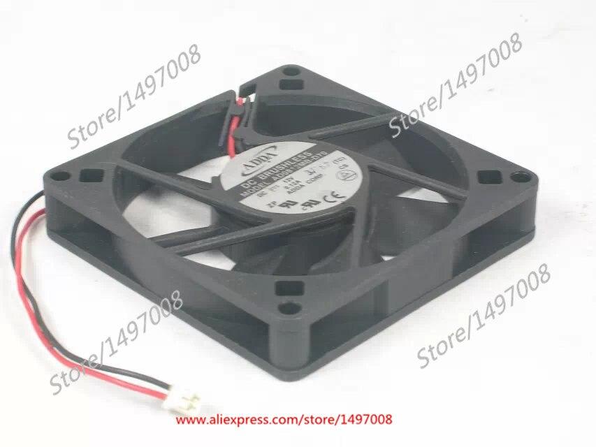 ADDA AD0812MB-D70 DC 12V 0.12A 80x80x15mm Server Square Fan