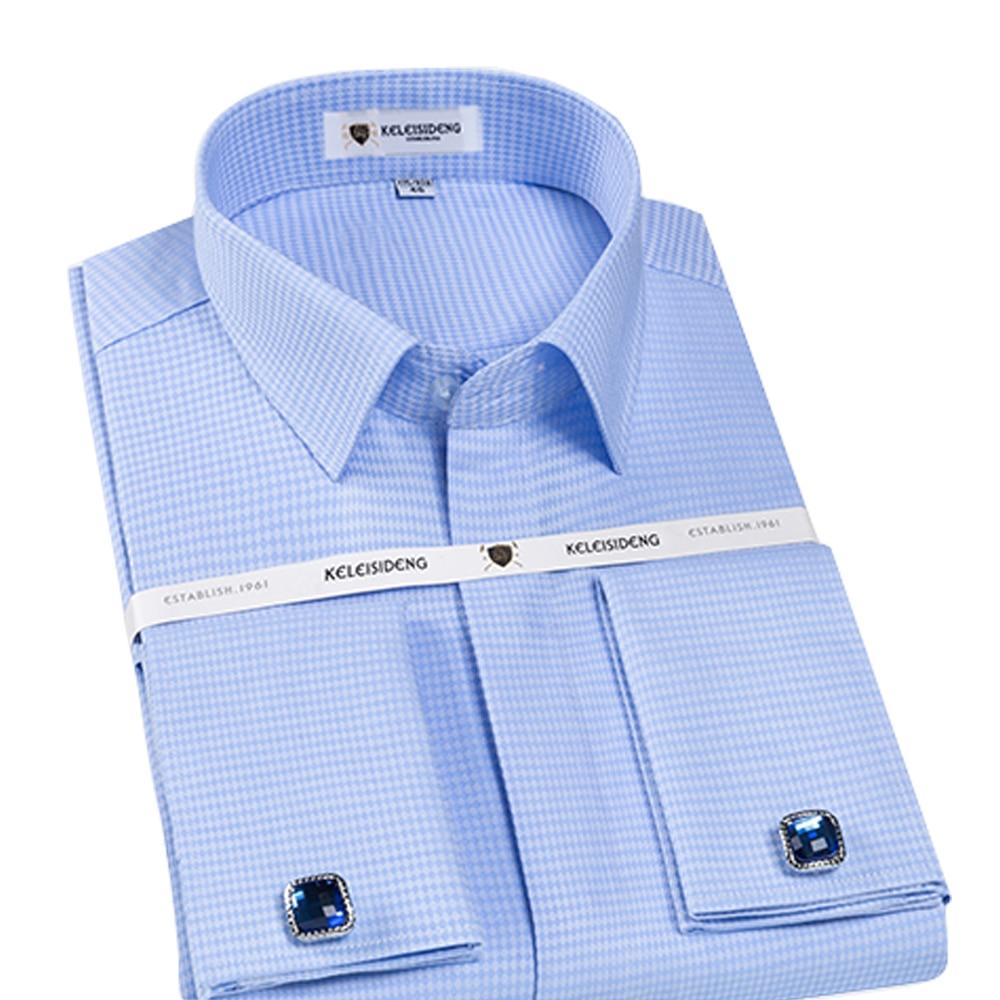 ORINERY 100% хлопок длинный рукав французский манжет платье рубашка 2019 новый дизайнер мужской смокинг рубашка с запонками модная брендовая одеж