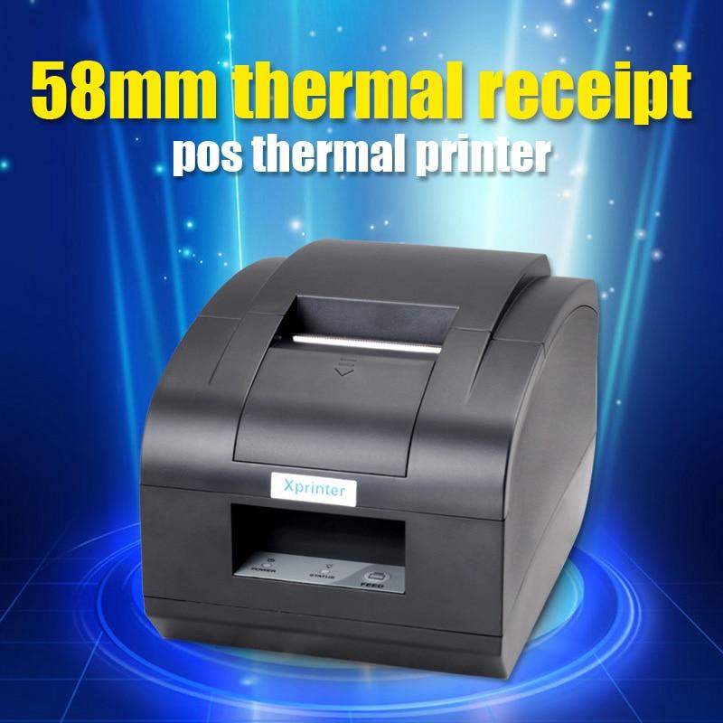 ФОТО Black Lan port 2' 58mm thermal receipt/mini/pos printer thermal printer Receipt printer ethernet printer