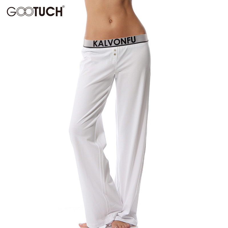 Women Sleep Bottoms Womens Pijama Trousers Underwear Pajamas Pants Long Johns Modal Lounge Pants Cueca 4XL