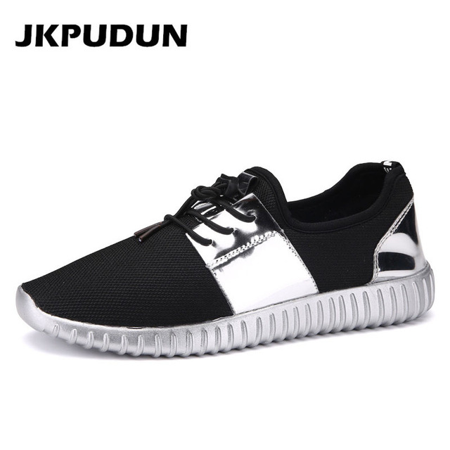 Colorful Mens Breathable Sneakers Sport Casual Leather Hip-hop Loafers shoes S5