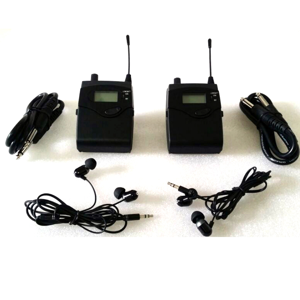 Fast shipping SR2050 In Ear Monitor System wireless in ear wireless monitors with in earphone pro sound system In microphones