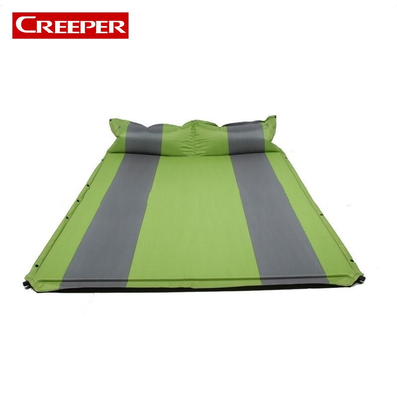 New Outdoor Inflatable Mattress Double Bed Waterproof Picnic Mat Self Inflating Travel Mat In The Ten Tapis Plage Cama Hinchable penny dale ten out of bed