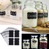 sticker labels for jars NAI YUE 36pcs/set Black Board Kitchen Jam Jar Label Labels Stickers 5*3.5cm Blank Chalkboard Sticker 3