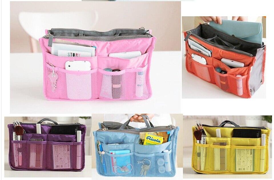 Large Storage Holder Washbag Hot Women Purse Handbag Organizer Travelling Bag Insert Liner Cosmetic Estuche Makeup In Bags Cases From Luggage