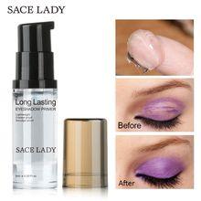 SACE LADY Eye Primer Makeup Eyeshadow Oil Free Natural Professional Base Makeup Cream Moisturzing Liquid Base Eyeshadow Primer цена