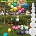 1 pc ronda chino linterna de papel cumpleaños partido decoración de la boda regalo arte DIY lampion blanco linterna colgante bola fiesta suministros