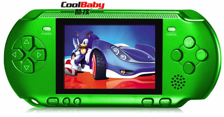 10pcs/lot 3.2inch Colorful Screen Children Classic Handheld Digital Screen Video Game Console For Kids