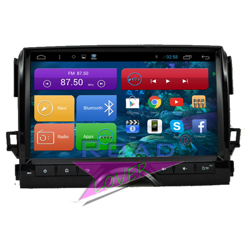 Roadlover Android 6.0 Car Media Center Player Radio For Toyota Reiz 2010 Stereo GPS Navigation Automagnitol Video 2 Din NO DVD