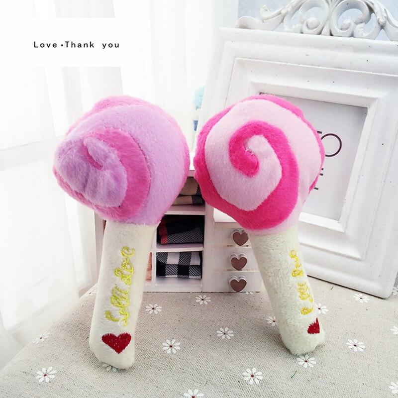 Amor gracias Nuevo Perro Juguetes Para Mascotas Cachorro Chew Squeaker Squeaky P