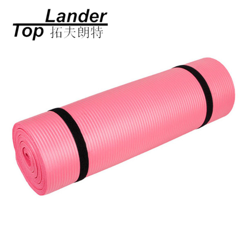 Yoga Mats Fitness Gymnastics Mats Non-slip Pad 181*63*1cm Thick NBR 10mm Exercise Training Yoga Pilates Mat hello kitty non slip yoga mat 10mm fitness mat yoga sport gym exercise women gymnastics cute yoga mats 185cm 80cm 1 0cm