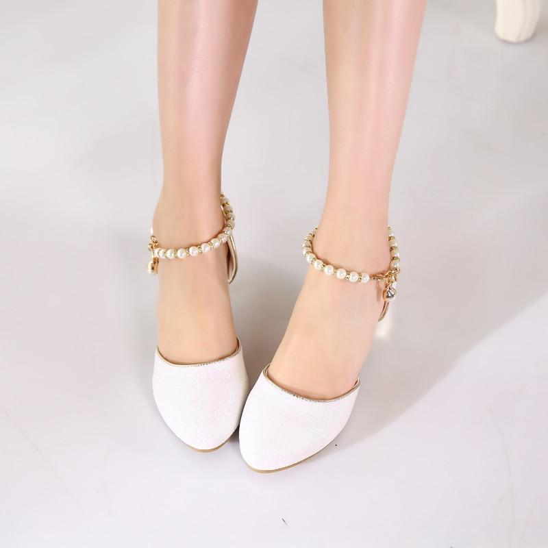 Princess Girls Sandals Kids Shoes For Girls Dress Shoes Little High Heel Glitter Summer Party Wedding Sandal Children Shoe