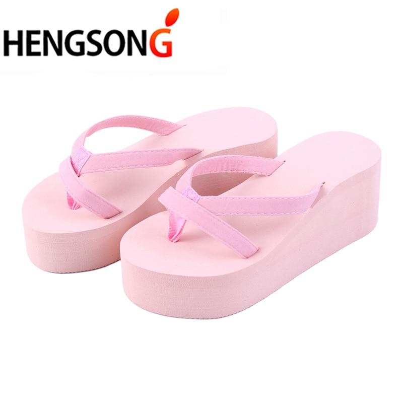 Casual Sandals Wedges Women Shoes Flip-Flops Female Fashionable Slip ER888259