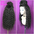 """Brazilian Kinky Curly Full Lace Wig For Black Women 12""""-26"""" Full Lace Human Hair wigs Glueless Lace Front Wigs With Baby Hair"""