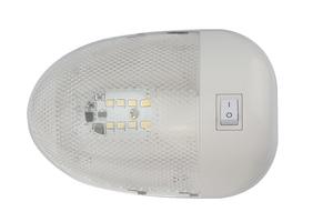 Image 1 - Luz de techo Interior para yate, barco marino, 8LED, 2w, lámpara de lectura blanca para autocaravana RV