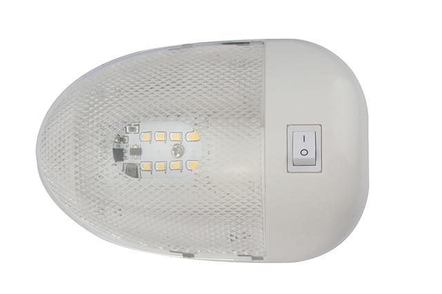 Luz de techo Interior para yate, barco marino, 8LED, 2w, lámpara de lectura blanca para autocaravana RV