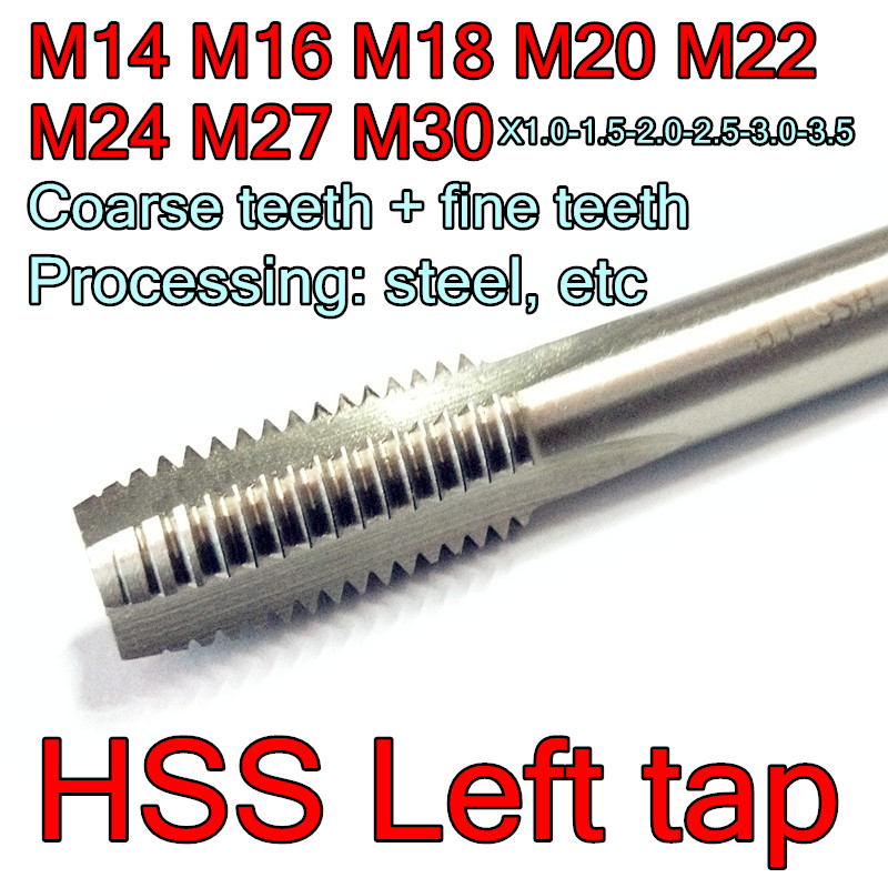 LH New. Metric Left hand HSS Hand tap M5 x 0.8  intermediate