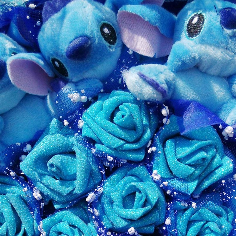Stitch-Bouquet-Plush-Stuffed-Carton-Animals-Toys-Artificial-Kawaii-Cartoon-Fake-Flowers-Best-Birthday-Christmas-Day (3)