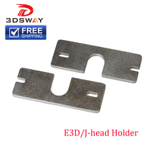 Free Shipping 3D Printer Parts High Quality Aluminium Alloy J-Head e3d v6 Extruder Bracket Holder for 3D Printer Reprap 1pcs cheap 3DSWAY Hardware Parts Machine Parts 3D Printing 6061 Aluminium Alloy