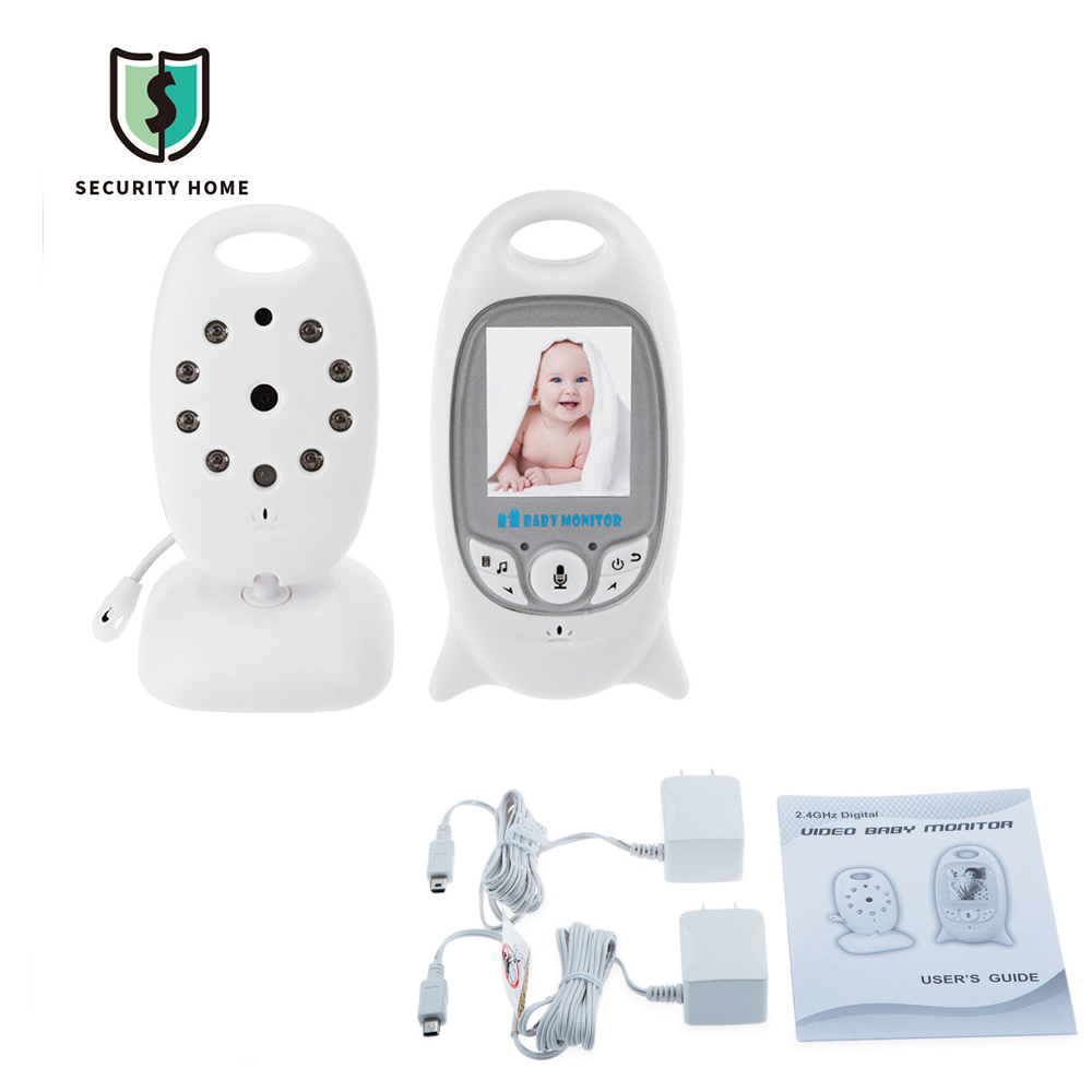 Fimei2.4G Wireless Baby Monitor Night Vision Surveillance Camera Security Camera Two-way Talk LCD Display Temperature Monitoring 2 4ghz wireless night vision surveillance camera with 2 4 lcd handheld two way speaker receiver