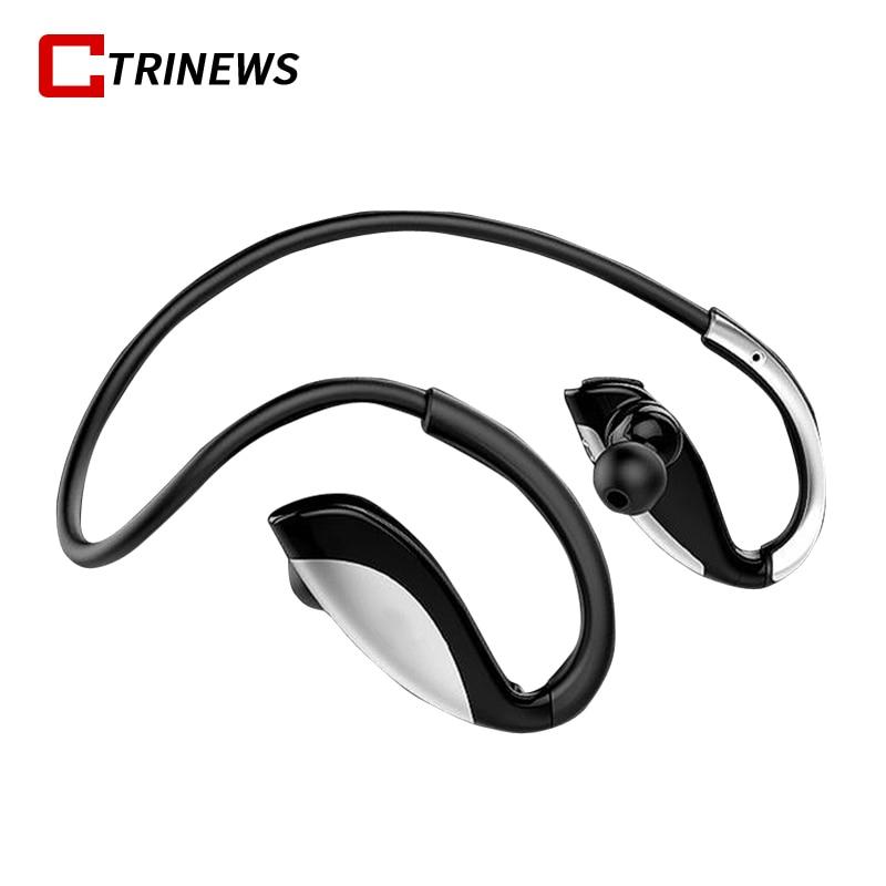 Bluetooth Headphones Wireless Earphones Sweatproof Sports Earphone with Microphone Stereo Headset Earbuds For iPhone Samsung