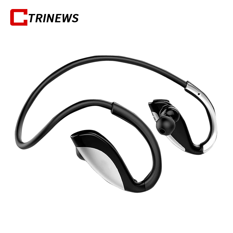 CTRINEWS Stereo Bluetooth Earphone Sports Running Bluetooth Earbud Wireless Earphones Noise Cancelling Auriculares For Xiaomi 2016 white and black joway h 08 wireless noise cancelling voice control sports stereo bluetooth v4 0 earphones with microphone