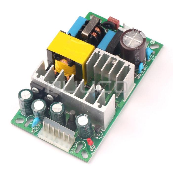 5 PCS/LOT  DC 12V Power Converter/Adapter AC 90V~240 110V 220V to DC 12 5A Switching Power Supply/Voltage Regulator 5pcs white case 90 240v 110 220v ac to 12v step down dc converter led switching power supply module 5w 450ma