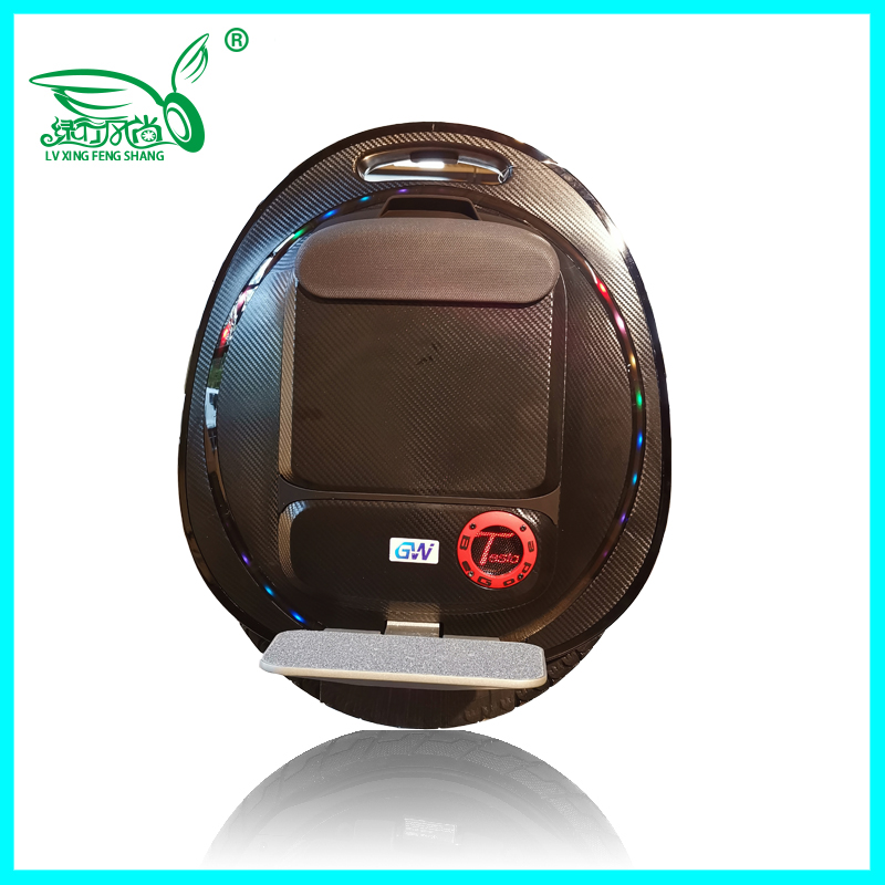2019 New Gotway Tesla2 monowheel electric unicycle 1020WH 2000W motor With Bluetooth speaker Handle anti-aircraft