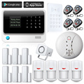 Touch Screen GSM Alarm System Alarm Systems Security Home WIFI Alarm System